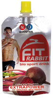 fitRABBIT - bio sport drink - 85 ml - 4 + 1 gratis