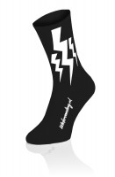 3x Lightning Socks - Zwart