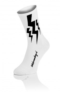 3x Lightning Socks - Wit