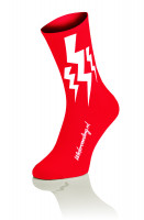 3x Lightning Socks - Rood